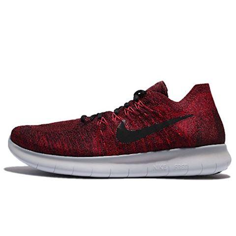Nike Free RN Flyknit 2017 Men's Running Shoe - Red Image