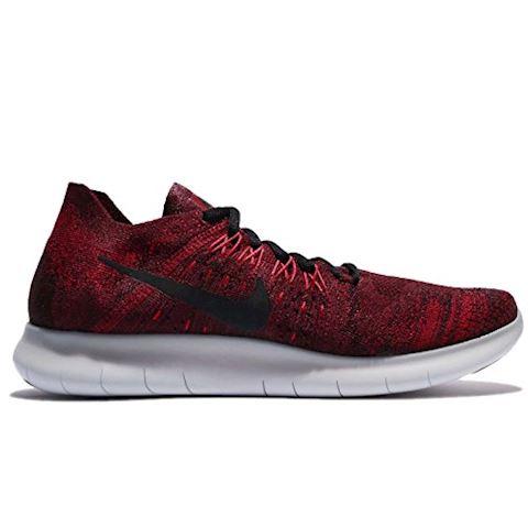Nike Free RN Flyknit 2017 Men's Running Shoe - Red Image 2