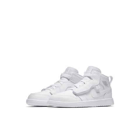 innovative design 1a392 800e2 Nike Air Jordan 1 Mid Alt Younger Kids  Shoe - White Image 2