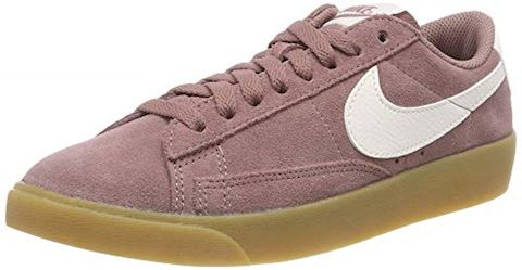 reputable site 92ff8 8460e Nike Blazer Low Suede Women's Shoe - Purple