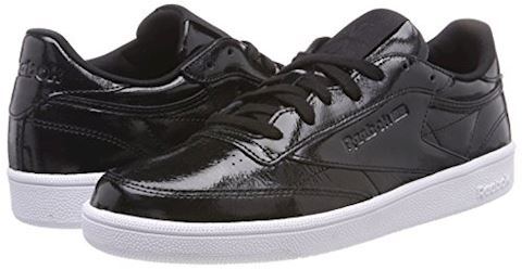 Reebok Classic  CLUB C 85 PATENT  women's Shoes (Trainers) in Black Image 5