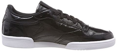 Reebok Classic  CLUB C 85 PATENT  women's Shoes (Trainers) in Black Image 6