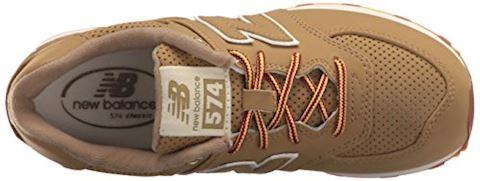 New Balance 574 Heritage Sport Kids Boys' Outlet Shoes Image 10