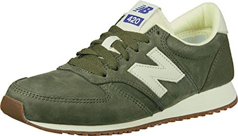 New Balance  U420  women's Shoes (Trainers) in Green Image