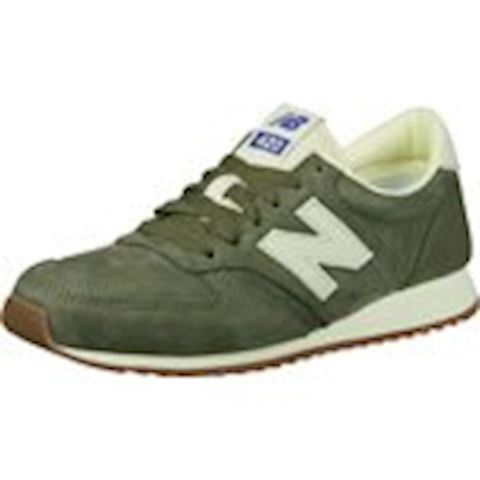 New Balance  U420  women's Shoes (Trainers) in Green Image 2