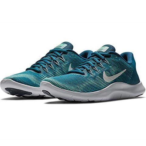 Nike Flex RN 2018 Women's Running Shoe - Blue Image 10