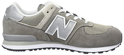 New Balance  574  girls's Shoes (Trainers) in Grey