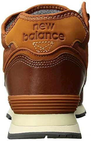 New Balance  MH574  men's Shoes (Trainers) in Brown Image 2