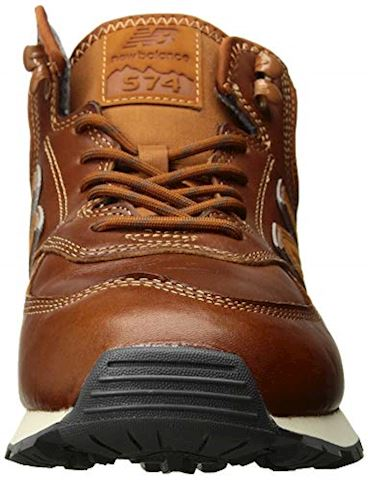New Balance  MH574  men's Shoes (Trainers) in Brown Image 4