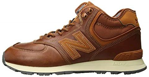 New Balance  MH574  men's Shoes (Trainers) in Brown Image 5