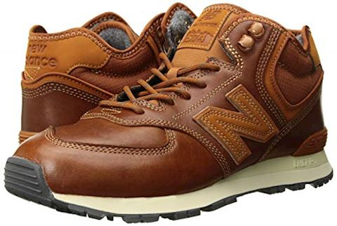 New Balance  MH574  men's Shoes (Trainers) in Brown Image 6