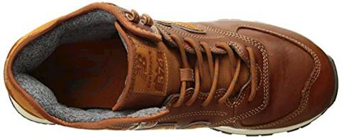 New Balance  MH574  men's Shoes (Trainers) in Brown Image 8