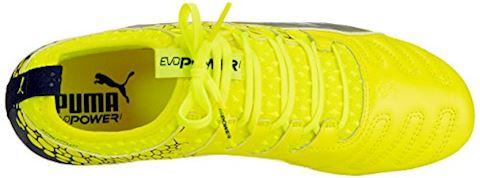 PUMA evoPOWER Vigor 1 K-Leather Graphic FG - Yellow Image 7