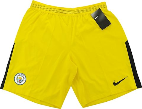 Nike Manchester City Mens Goalkeeper Player Issue Away Shorts 2017/18 Image