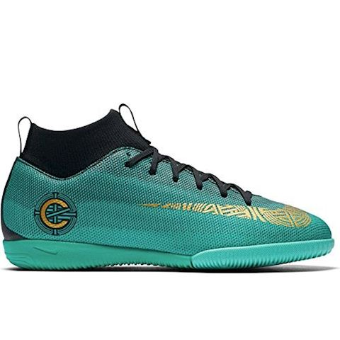 Nike Jr. MercurialX Superfly VI Academy CR7 Younger/Older Kids'Indoor/Court Football Shoe - Green Image