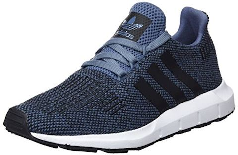 adidas  SWIFT RUN J  girls's Shoes (Trainers) in Blue Image