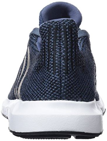 adidas  SWIFT RUN J  girls's Shoes (Trainers) in Blue Image 2