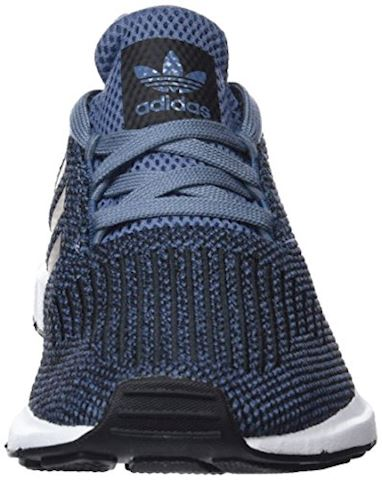 adidas  SWIFT RUN J  girls's Shoes (Trainers) in Blue Image 4