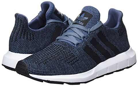 adidas  SWIFT RUN J  girls's Shoes (Trainers) in Blue Image 5