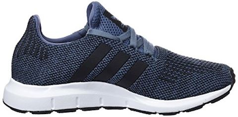 adidas  SWIFT RUN J  girls's Shoes (Trainers) in Blue Image 6