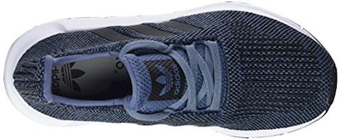 adidas  SWIFT RUN J  girls's Shoes (Trainers) in Blue Image 7