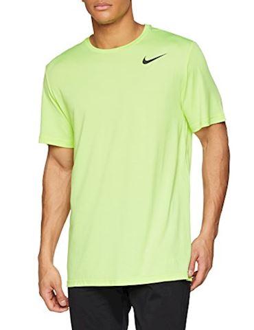 Nike Breathe Men's Short-Sleeve Training Top - Yellow Image