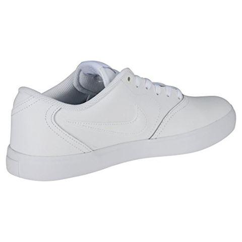 Nike SB Check Solarsoft Men's Skateboarding Shoe - White Image 11