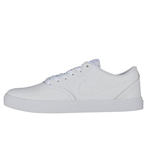 Nike SB Check Solarsoft Men's Skateboarding Shoe - White Image 14