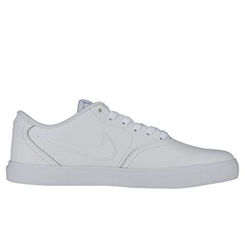 Nike SB Check Solarsoft Men's Skateboarding Shoe - White Image 15