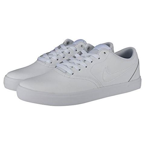Nike SB Check Solarsoft Men's Skateboarding Shoe - White Image 18