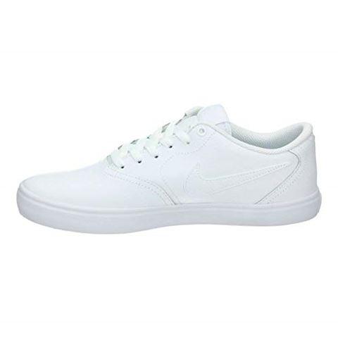 Nike SB Check Solarsoft Men's Skateboarding Shoe - White Image 3