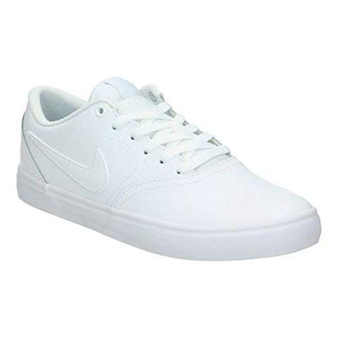 Nike SB Check Solarsoft Men's Skateboarding Shoe - White Image 5