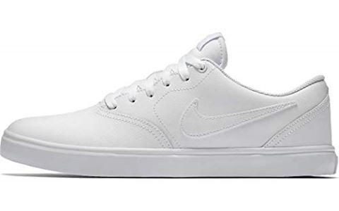 Nike SB Check Solarsoft Men's Skateboarding Shoe - White Image 6