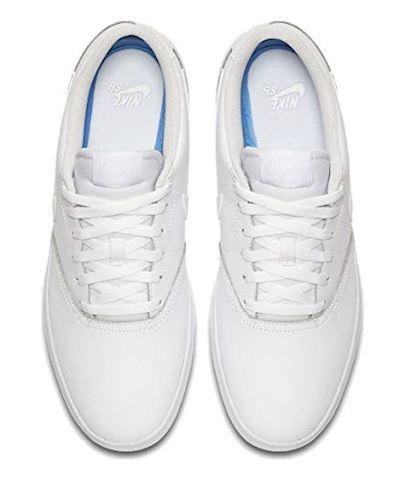 Nike SB Check Solarsoft Men's Skateboarding Shoe - White Image 7