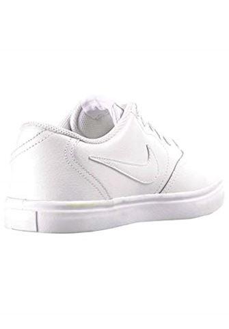 Nike SB Check Solarsoft Men's Skateboarding Shoe - White Image 8