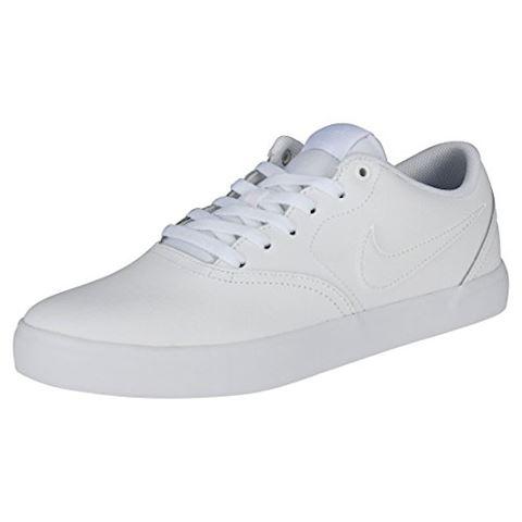 Nike SB Check Solarsoft Men's Skateboarding Shoe - White Image 10