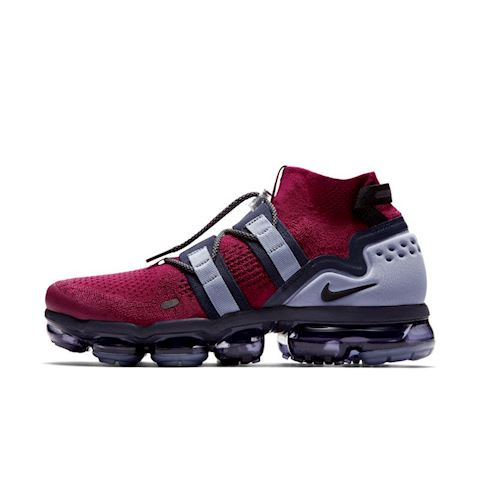 Nike Air VaporMax Flyknit Utility Shoe - Red Image