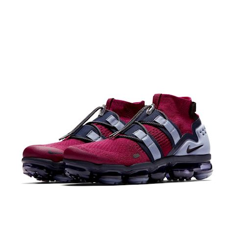 Nike Air VaporMax Flyknit Utility Shoe - Red Image 2