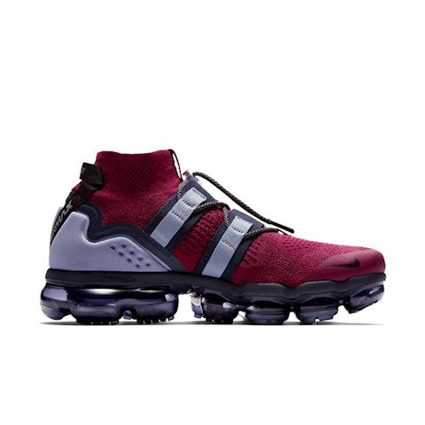 Nike Air VaporMax Flyknit Utility Shoe - Red Image 3