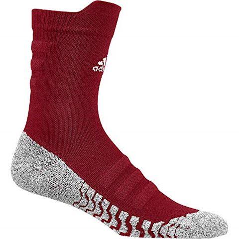 adidas Alphaskin Traxion Lightweight Cushioning Crew Socks Image 2