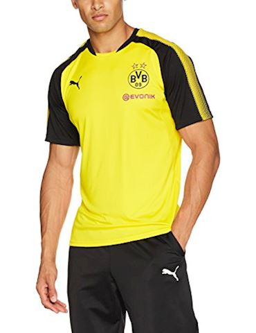 Puma Dortmund Training T-Shirt - Yellow/Black Image