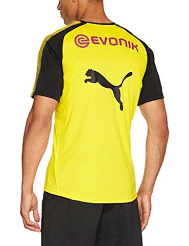 Puma Dortmund Training T-Shirt - Yellow/Black Image 2