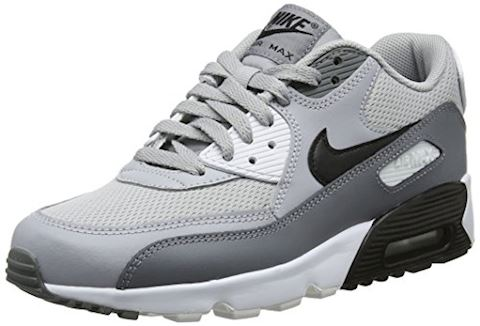 35faa9f4f3 Nike AIR MAX 90 MESH GRADE SCHOOL boys's Shoes (Trainers) in Grey Image