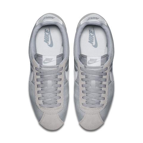 Nike Classic Cortez Nylon Unisex Shoe - Grey Image 4