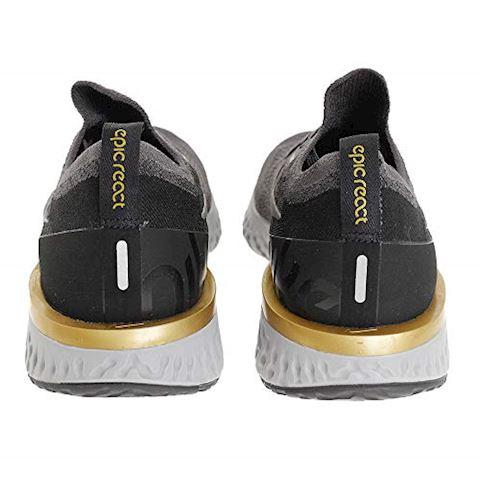 Nike Epic React Flyknit Men's Running Shoe - Grey Image 3