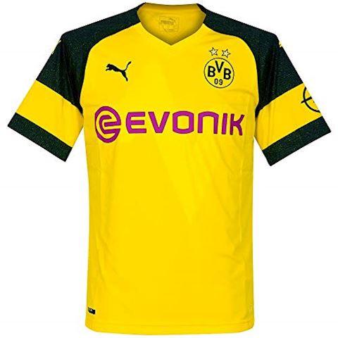 4e2f52da55d Puma Borussia Dortmund Mens SS Home Shirt 2018 19 Image