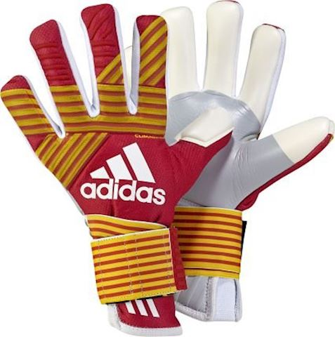 adidas Goalkeeper Gloves ACE Trans Climawarm Pyro Storm - Scarlet/Equipment Yellow/White Image