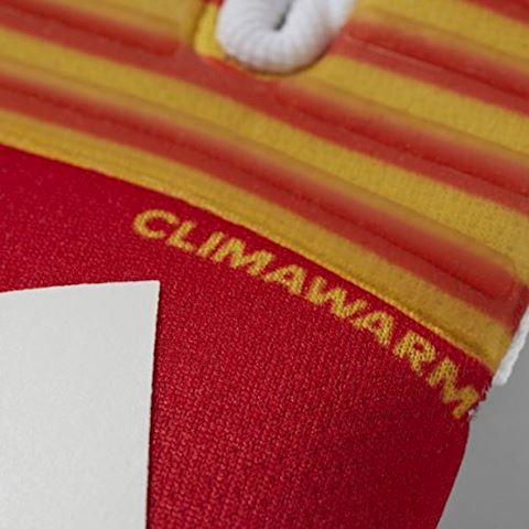 adidas Goalkeeper Gloves ACE Trans Climawarm Pyro Storm - Scarlet/Equipment Yellow/White Image 2