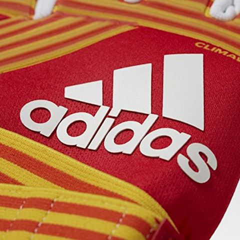 adidas Goalkeeper Gloves ACE Trans Climawarm Pyro Storm - Scarlet/Equipment Yellow/White Image 4