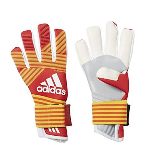 adidas Goalkeeper Gloves ACE Trans Climawarm Pyro Storm - Scarlet/Equipment Yellow/White Image 5